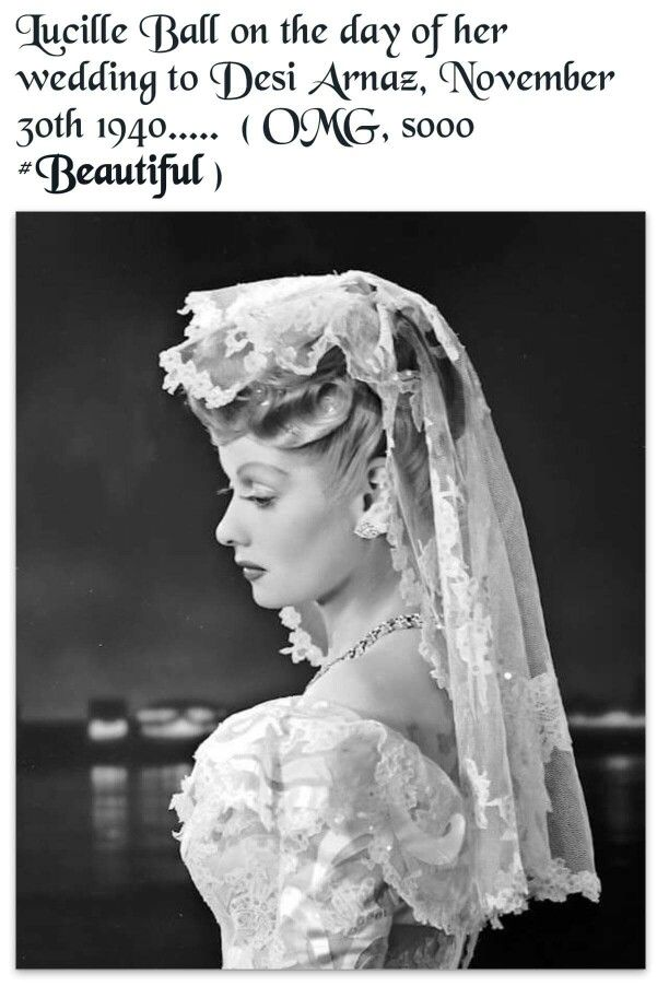 Lucille Ball Wedding To Desi Arnaz On November Lucy Was A Very Beautiful Women And Smart One Boot
