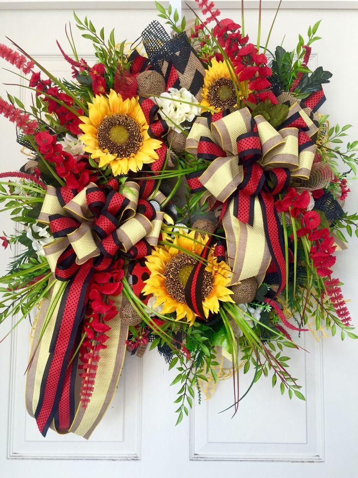 278 best Spring Summer Wreaths images on Pinterest