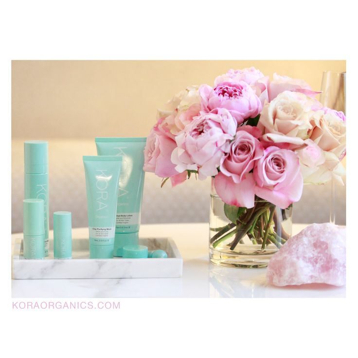 Beauty products on show, not everything should be kept in the cupboard  xxx #KORAOrganics