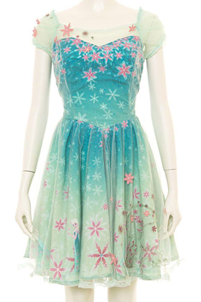 Secret Honey Frozen Fever Elsa Dress #SecretHoney