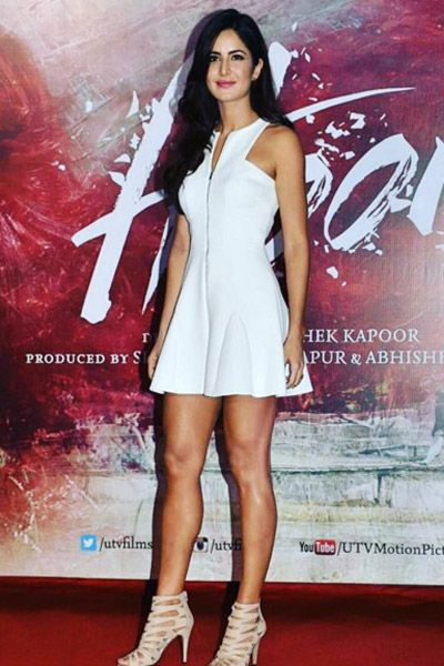 Katrina Kaif in Cushnie Et Ochs for 'Fitoor' promotions