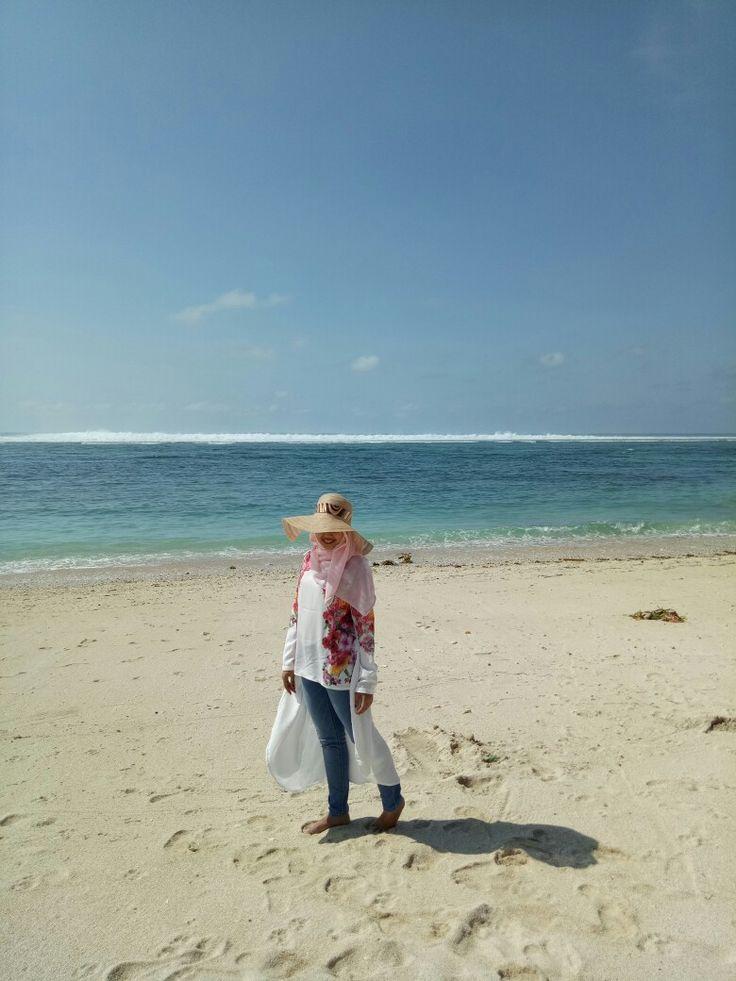 Pandawa beach, sun shoot place