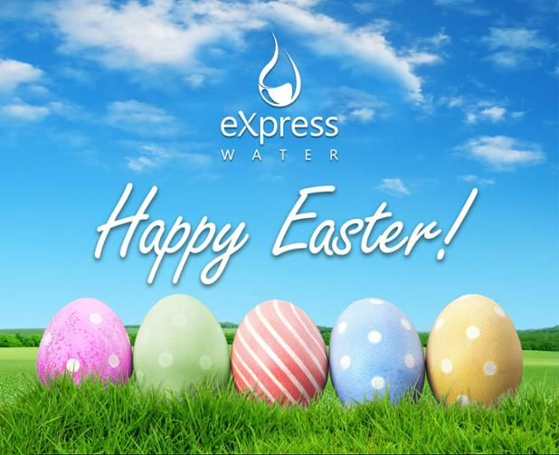 Happy Easter Sunday #Express Water