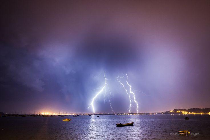Lightning over Poole