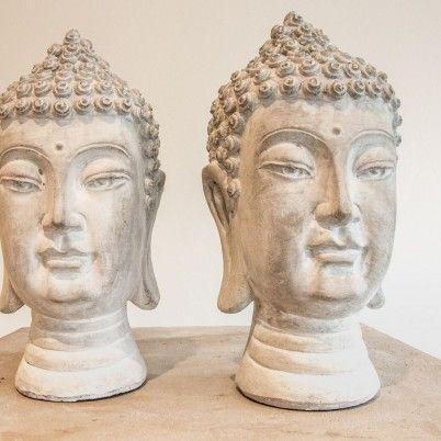 Die Buddha Kpfe Sind Aus Keramik Und In Grauen Matt Tnen Gestaltet Ein Wunderschnes Set Fr Einen Hauch Asien Ihren Rumen Masse Ca