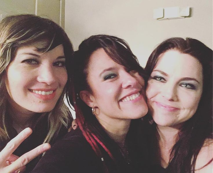 Amy Lee and friends