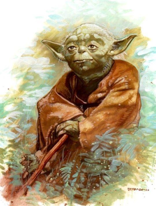 Yoda by Dave Dorman