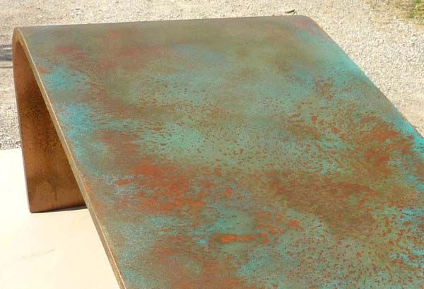Peinture effet cuivre antique, donne aux surfaces un aspect de cuivre antique
