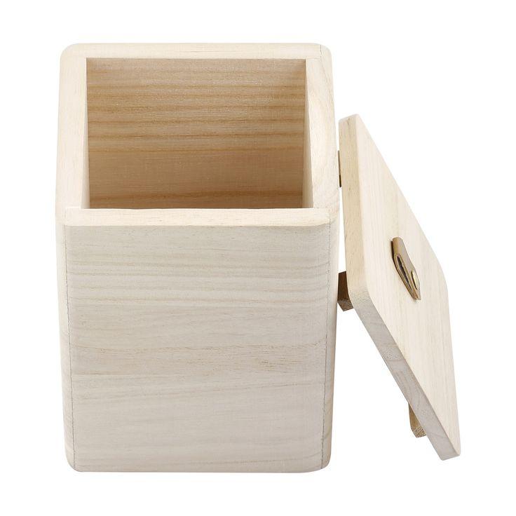 Wood Storage Box | Kmart