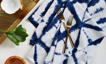 текстильный краситель Shibori-техник-ткань салфетка-индиго