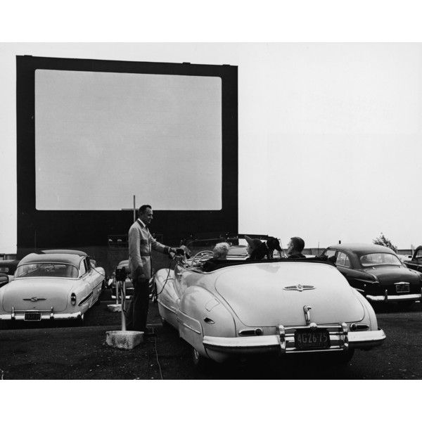 It's Drive-In Movie Season in the Hudson Valley ❤ liked on Polyvore featuring home, home decor, movie home decor and americana home decor