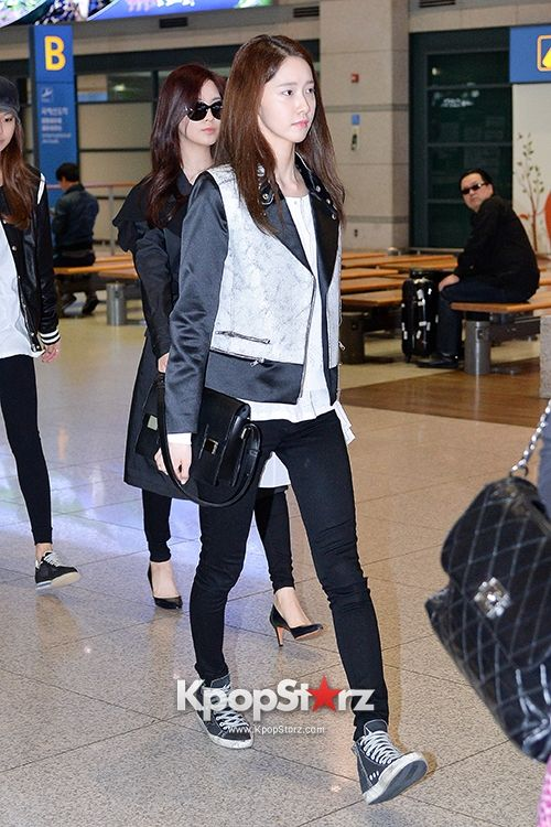 Snsd Yoona Airport Fashion April 28 Kpop Pinterest Yoona Airport Fashion And Airports