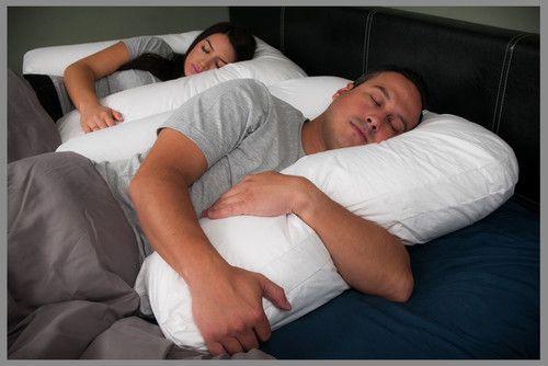 Positional Sleep Apnea Pillow. Reduce Snoring Pillow. Reduce Tossing and Turning. Side Sleeper Pillow. Sleep Better Together!