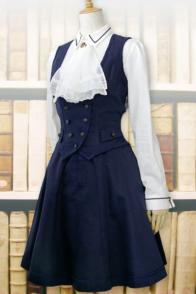 #Fashion | Part of excentrique's (link in the source) summer '11 collection; the librarian