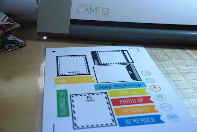 pirnt & cut sheet | Cari Locken for Silhouette
