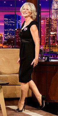 Look of the Day photo   Helen Mirren in Alexander McQueen--I want to look like Helen Mirren when I grow up!