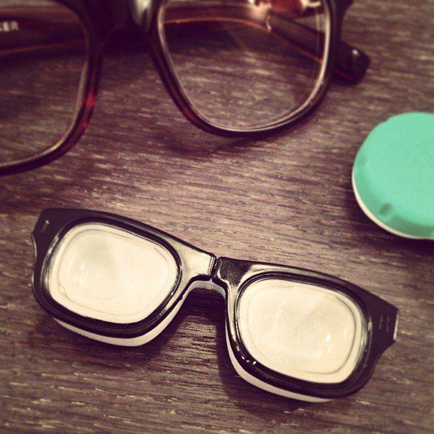 Fancy - Retro Specs Contact Lens Case