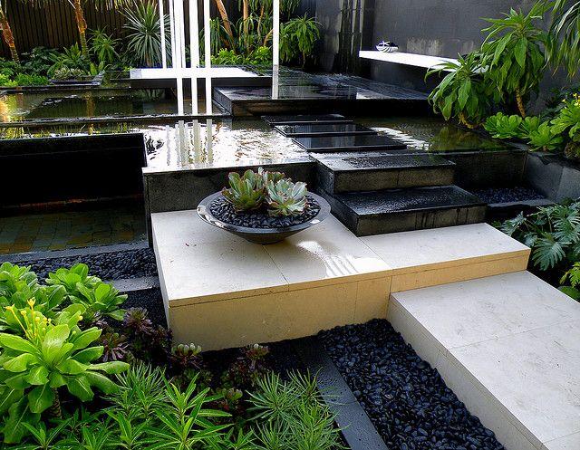 Canary Islands Spa Garden by Amphibian designs | Gardens | Pinterest