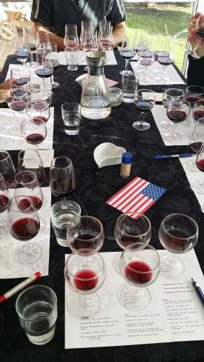 Wine testing by American wines