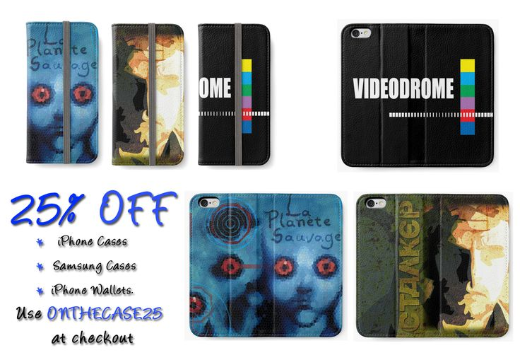 25% off iPhone Cases, Samsung Cases & iPhone Wallets. Use ONTHECASE25 at checkout #iPhone #iPhoneCases #iPhoneWallets #movies #iphonewallet #buyiPhoneWallets #iphonewallets #videodromephonewallet #ctalker #stalker #giftsforhim #cinemagifts #giftsforher #cinephile #films #fantasticplanetanimation #videodromemovie #cultfilms #discount #redbubble #save #sales #discountgifts