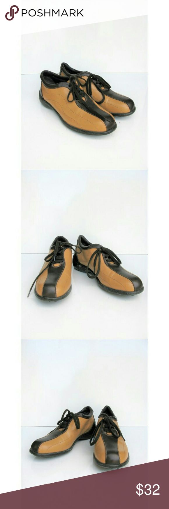 Jaime Mascaro Lace-up Leather Bowling Shoe Oxfords Two Tone Brown & Tan Leather, Lace-up, Cushioned Heel, Leather Sole -- Excellent Rarely Worn Condition, Light Scuffing to Rubber Heel, Otherwise Mint Condition ---- Toe to Heel 9 -- Heel 1 -- Leather Jaime Mascaro Shoes Flats & Loafers