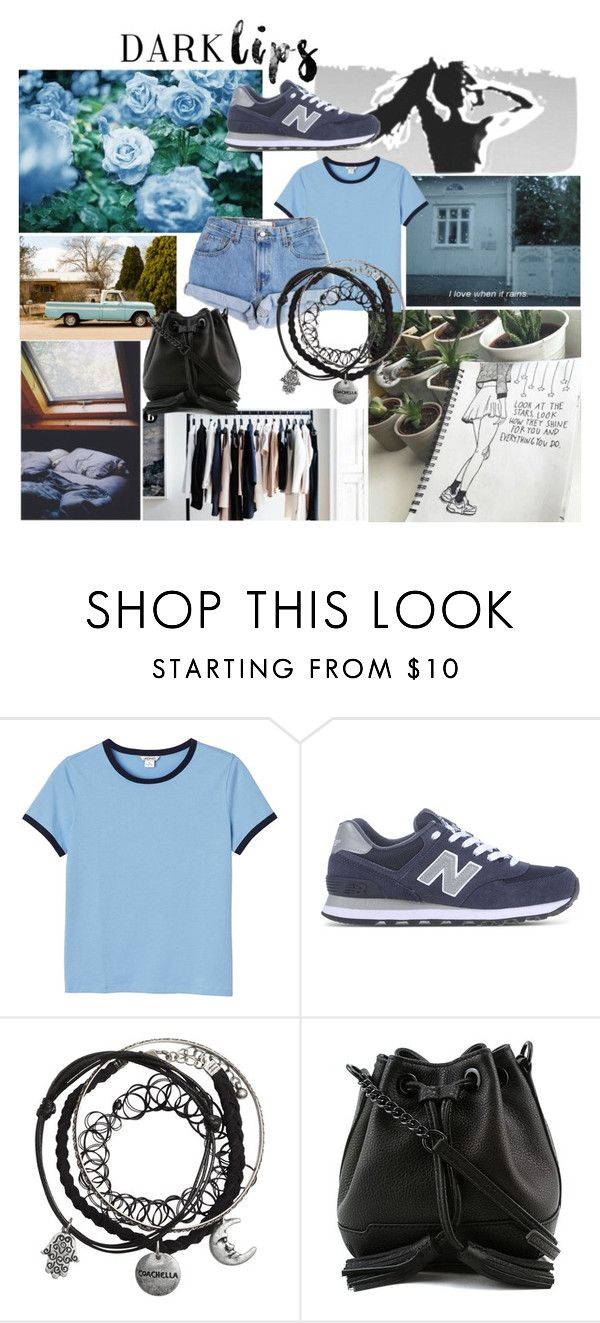 """Sin título #242"" by camilazeballo on Polyvore featuring moda, Monki, Levi's, New Balance y Rebecca Minkoff"