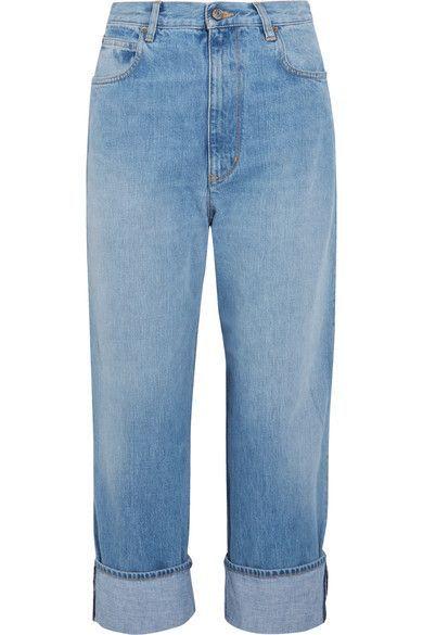 Golden Goose Deluxe Brand - Kim High-rise Straight-leg Jeans - Light denim - 28