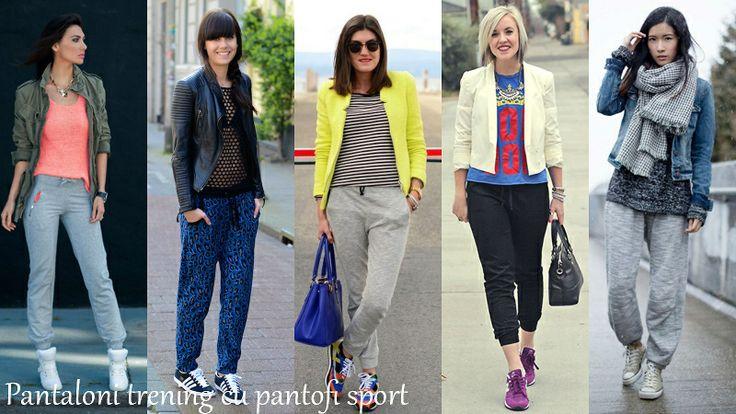 Idei de tinute stilate cu #pantofi sport pentru primavara. #stil #moda #casual #vestimentar #haine #imbracaminte