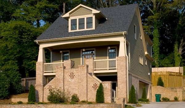 17 best images about narrow lot house plans on pinterest for Narrow house plans with garage underneath
