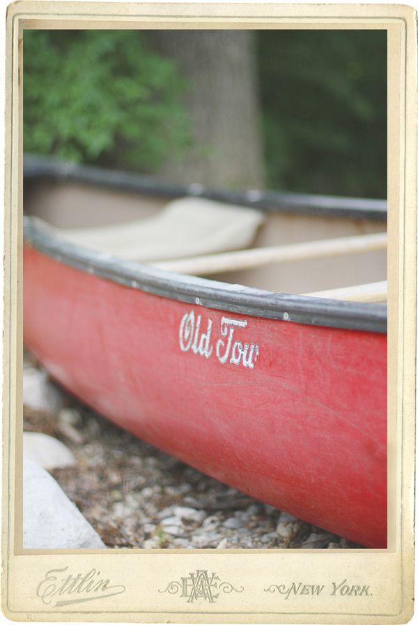 pretty canoe