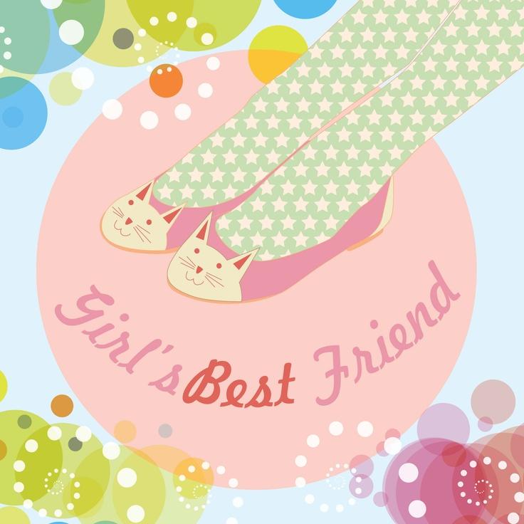 flat shoes my favorite :D  #shoes #flat #illustration #vector #cute #cat