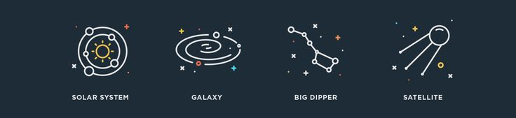 Space: Free Vector Icons on Behance