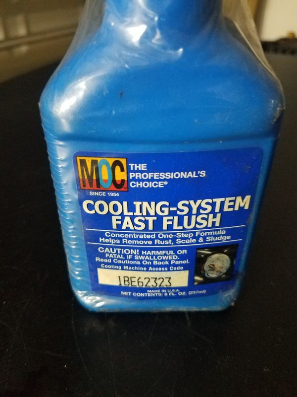 MOC RADIATOR FLUSH PROFESSIONAL KIT (2 PACK) for Sale in