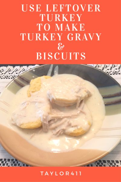 Every year after the holiday dinner, I look forward to the leftovers. The next morningI always use the left over turkey to make Turkey Gravy over Biscuits. This recipe is fast and easy, I hop…