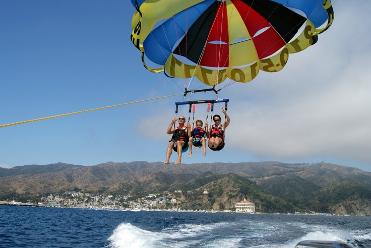 The coupon pack is actually pretty decent, and can save you a few pennies on your trip to Catalina Island. There are currently no promotional coupons for discounted parasailing rides, so this is the best way to save a few bucks.