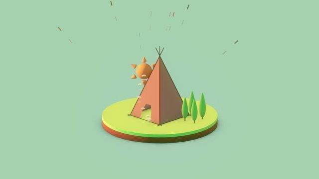 Home Sweet Home #2. #3d #motiongraphics