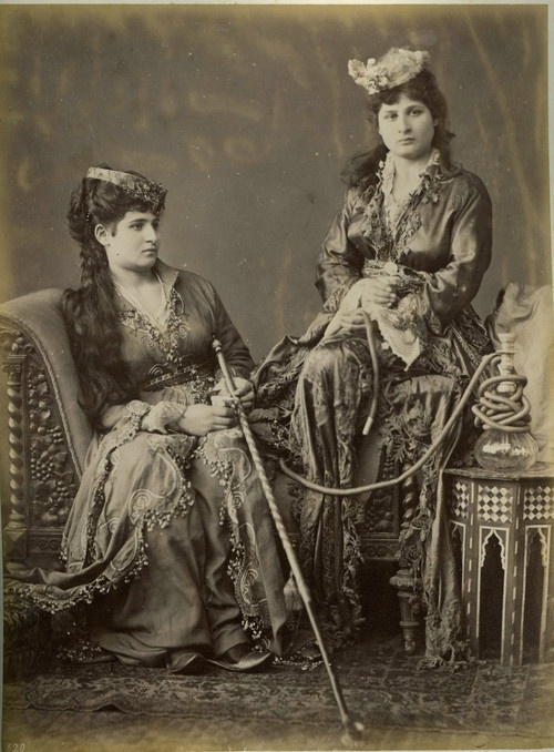 carolathhabsburg:  Turkish women. 1880s.