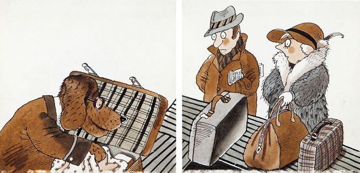 Jerzy Flisak - Pies przeszukujący bagaże