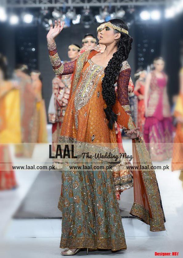 Latest Bridal Dresses 2015-Laal( the wedding magazine)