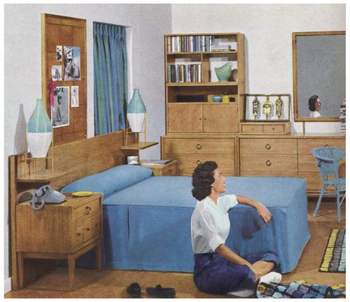 1000+ Images About 1940s, 1950s Homes On Pinterest