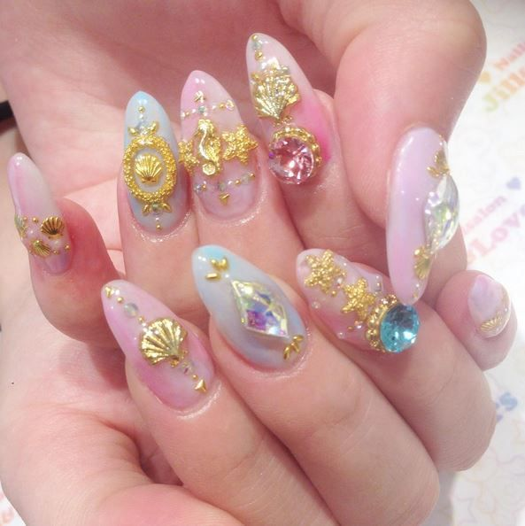 174 best nails images on Pinterest | Nail scissors, Make up looks ...