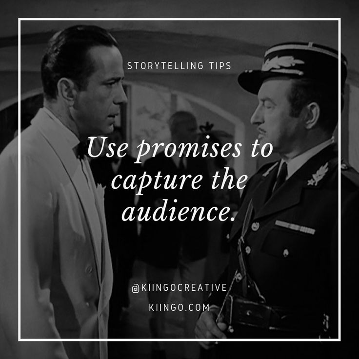 Use Promises To Capture The Audience We can think of a promise as a debt which m… – Designers.ca