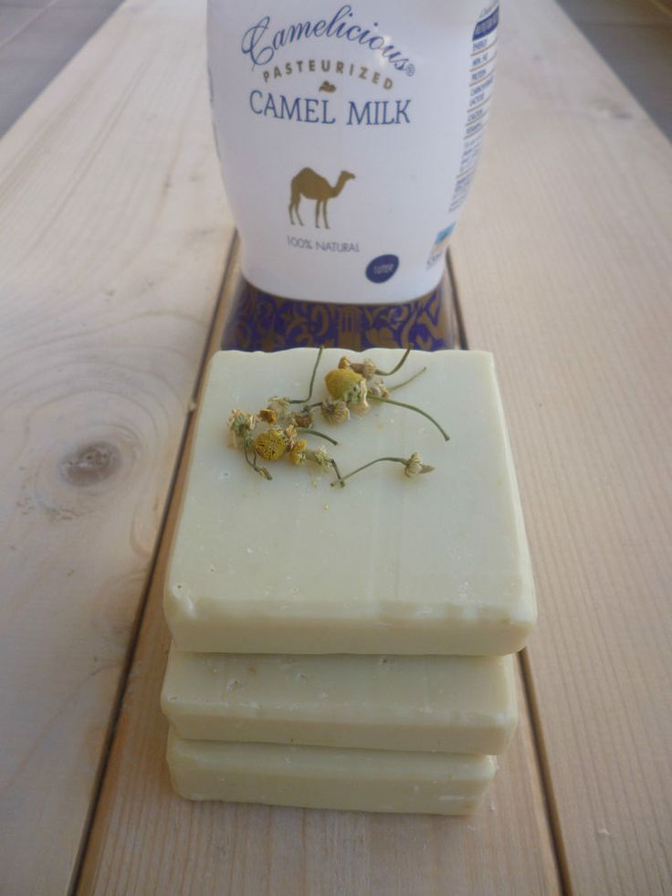 CAMEL MILK SOAP - Handmade Camel Milk Soap Bar with chamomile - Organic Soap