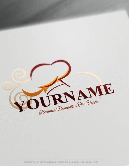 Free Logomaker – Chef Logo Template