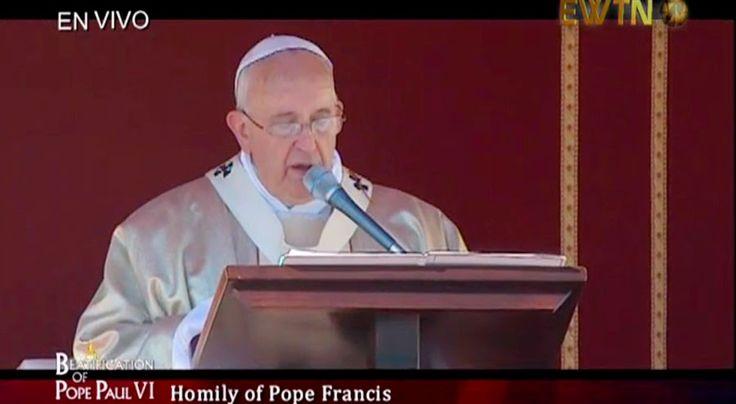 [VIDEO] Papa Francisco: En el Sínodo hemos visto una respuesta valiente a los nuevos retos