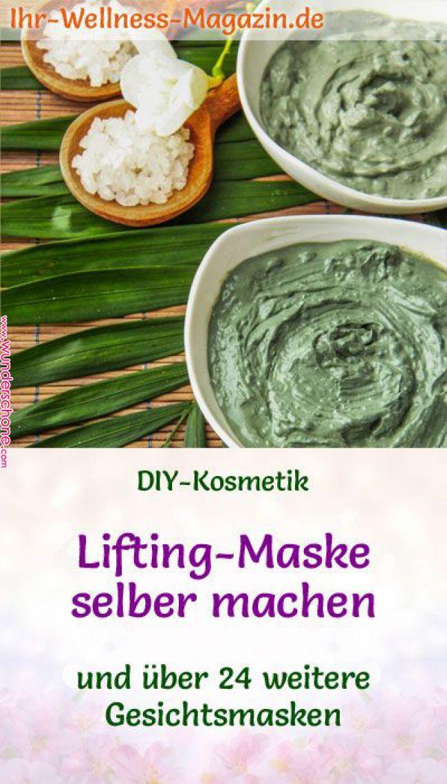 Lifting-Maske selber machen – Rezept und Anleitung | Gesichtsmasken zum Selberma…