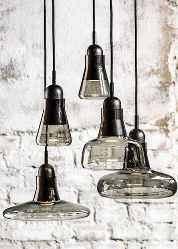 Luxury Life【Brokis Shadows Solo Suspension Lamp 影子 玻璃吊燈 圓徑 25cm,Lucie Koldova 設計】
