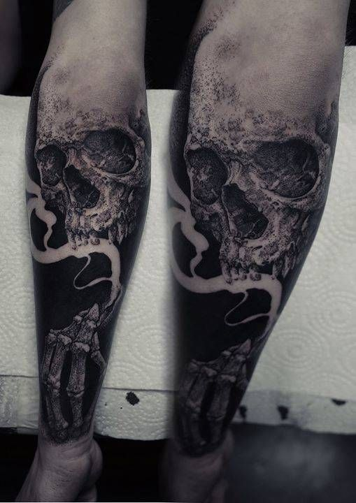 Skeleton Man Tattoo Movie