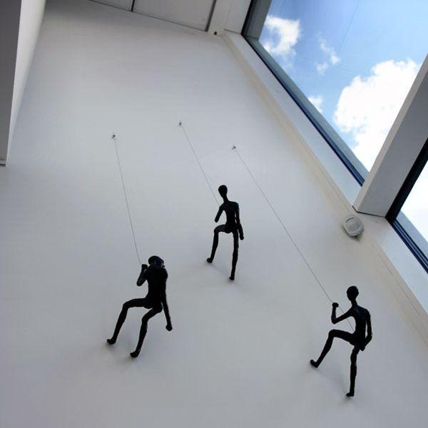Climbing Man – Wall Sculpture – Wall Art Ideas