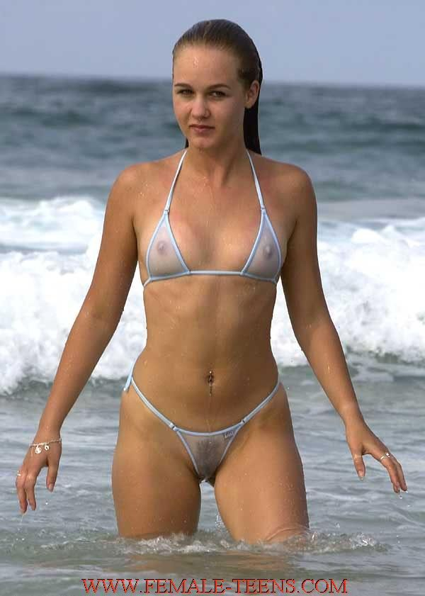 Bikini invisible see through